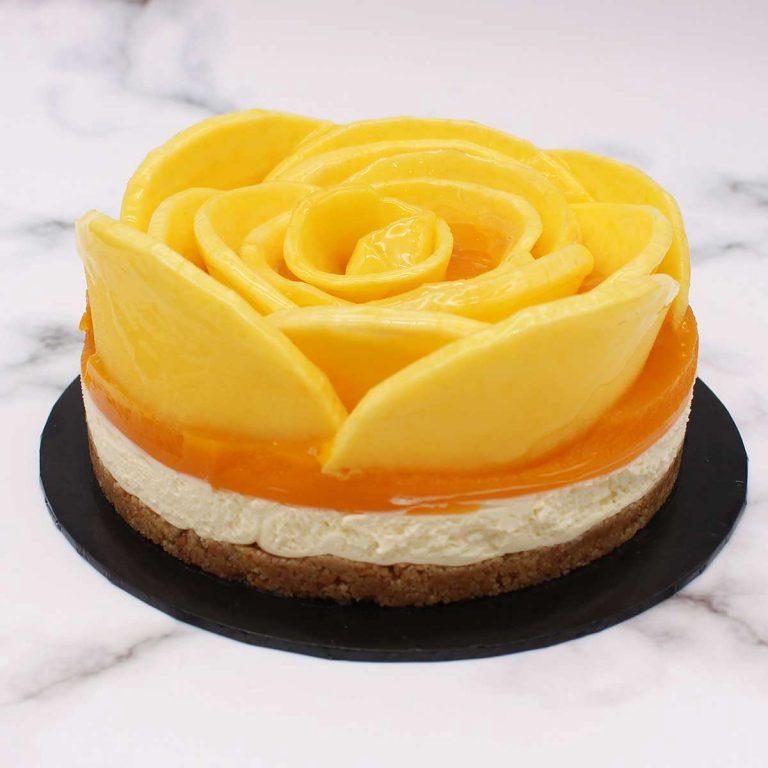 Mango Passion Cheesecake