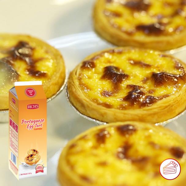 Rich's Portuguese Egg Tart Topping