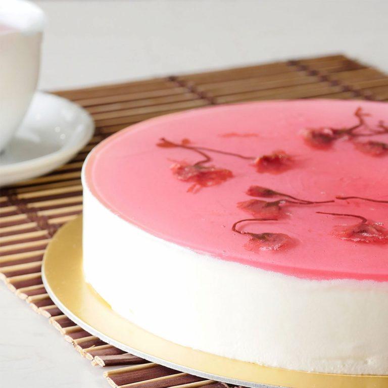 Sakura Yoghurt Cheesecake